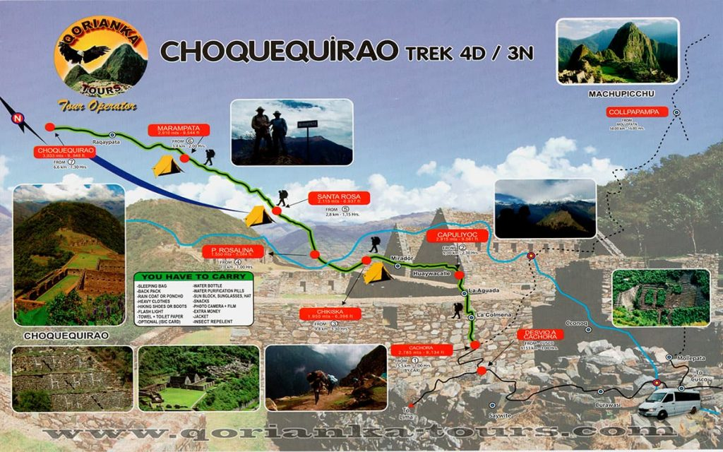 mapa-choquequirao-4D-3N-Qorianka-Tours